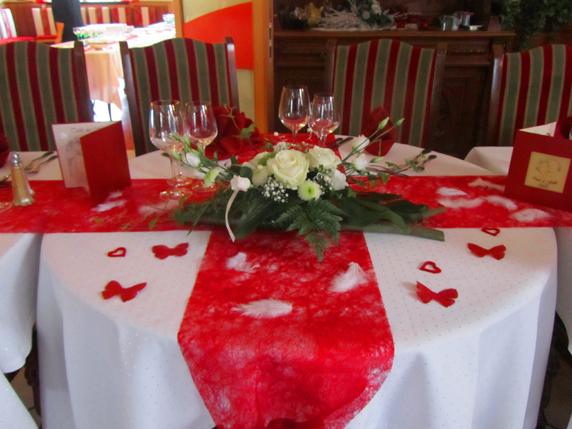 banquet table présenation du willerhof